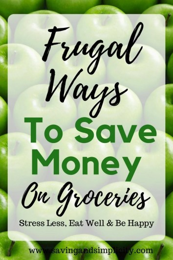 Have you seen the price of groceries? Feeding a household is getting expensive. 15 frugal living ways to save money on groceries. Save money and eat happy.