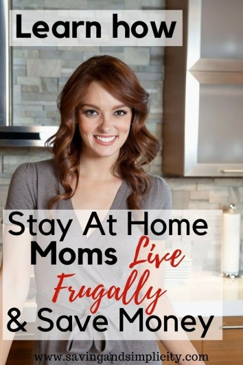 Have you ever wondered how stay at home moms do it all and get the bills paid? Learn 21 ways to save money, live well on less, be happy and stay home.
