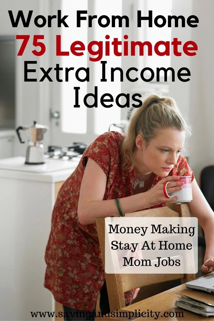 making extra income the stay at home mom edition saving simplicity