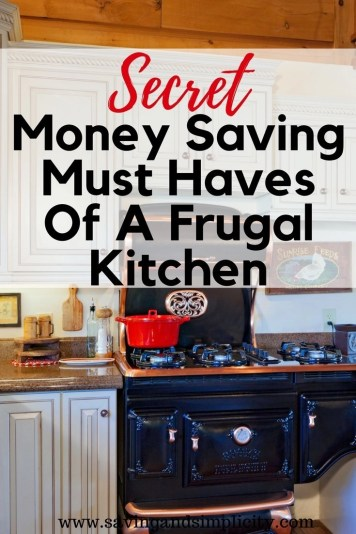 The heart of the home is the kitchen.It's where you gather, where you cook, where you converse and where you share your life. The kitchen is also the best place to start saving money and living more frugally. Learn the top 21 frugal kitchen money saving must haves.