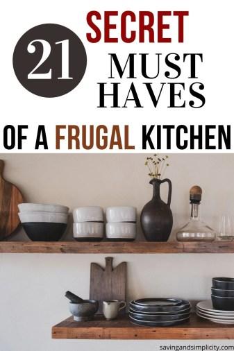 frugal kitchen