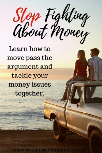 The number one thing couples fight about is money. Most of the time it's about not having enough of it.  Debt can destroy a marriage. Learn how to move pass the argument and tackle your money issues together.
