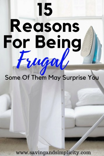 What is your reason for being frugal?Are you a stay at home mom trying to make everything work on a single income? Learn 15 of the most popular reasons for being frugal.
