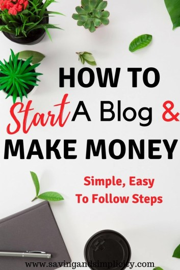 Are you thinking about starting a blog and wondering where to begin? Learn the simple and easy steps to starting a money making blog. Start a Mom blog. Work from home. Skip the 9-5 and start earning money your way.