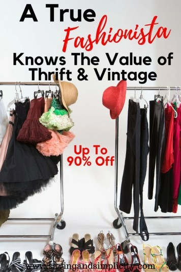 In today's less is more economy a true fashionista knows that vintage and thrift have amazing value. Learn how and where to buy the brands you love at a fraction of the price. Never pay retail again. Vintage fashion value at its best.