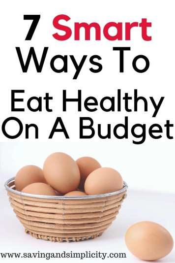 eating on a budget