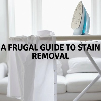 A Frugal Guide To Stain Removal