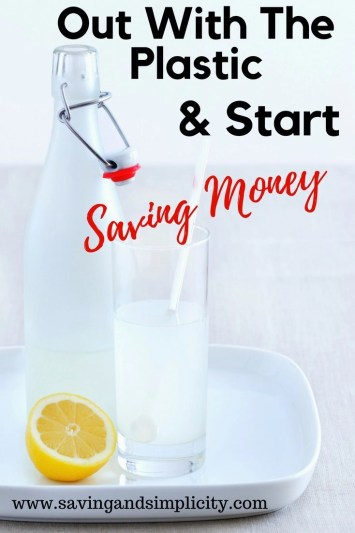 Why waste your hard earn money?! Out with the plastic and in with saving money. Learn tips and tricks to help you eliminate the waste and save you money.