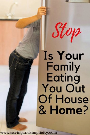 Please tell me I am not the only one who's family is eating them out of house and home! Learn the tips and tricks I used to conquer our grocery budget.