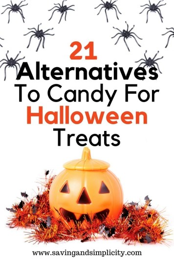 21 alternatives to candy for Halloween treats. Trick or treat, costumes and decorations. Halloween fun without the sweets 21 non-candy options for giving.
