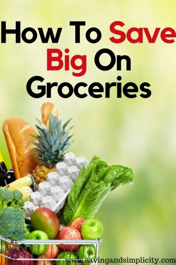 Does it feel like you are shelling out more money for groceries lately? Learn how to save big on groceries and it doesn't involve clipping coupons.