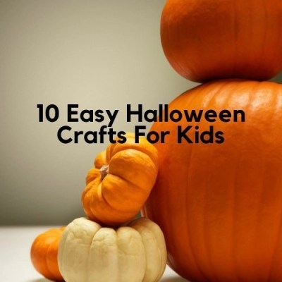 10 Easy Halloween Crafts For Kids