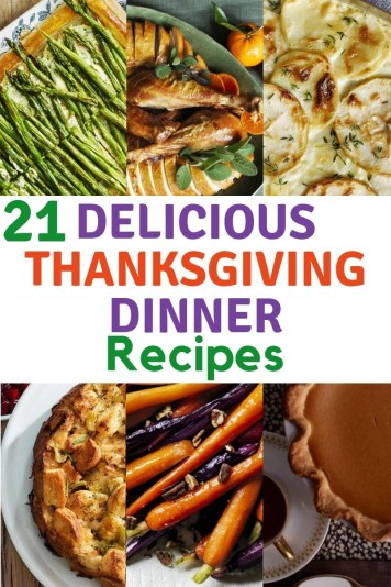 21 delicious Thanksgving dinner recipes. Appetizers, side dishes, main dishes, sauces, desserts and drinks. Food is better when shared with family & friends