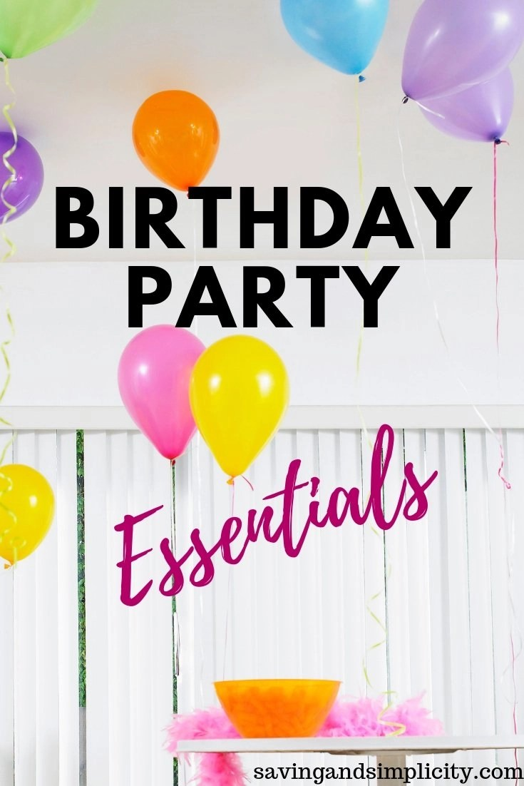 Birthday Parties On A Budget You Dont Need To Spend Crazy Amounts Of