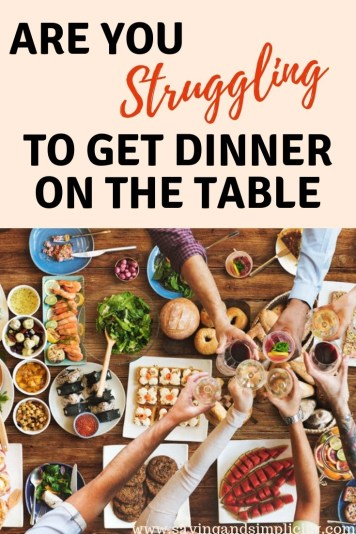 Are you struggling to get dinner on the table? Stress no more there is a simple, easy solution. It is amazing! You have to check these money saving recipes.