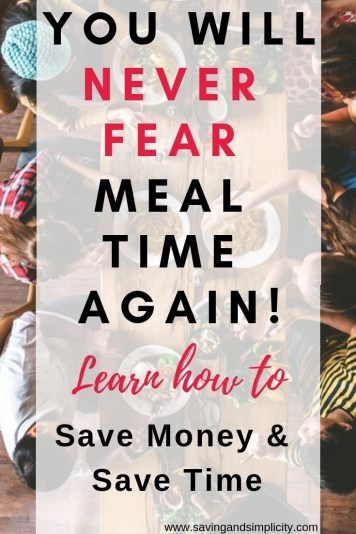 Do you struggle with meal time?The actual food preparation time? Or is it money and grocery budgeting are not your thing? Find your helpful solutions here.