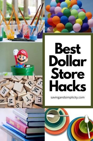 best dollar store hacks