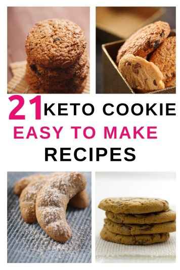 Ketogenic cookies or Keto cookies are low carb, higher fat cookies. So they will fit into most weight loss plans. 21 of the best Keto cookies.