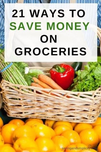 ways to save on food