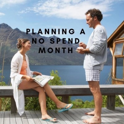 Planning A No Spend Month