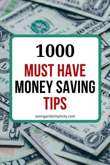 frugal tips
