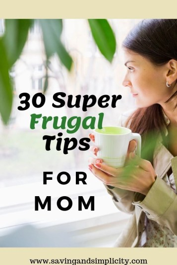 frugal tips for moms