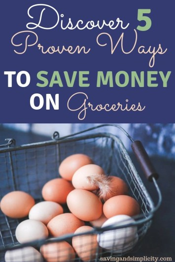 save money on groceries that don't involve coupons