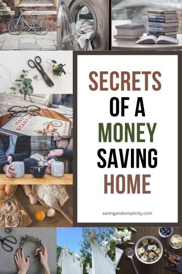 secrets of money saving home