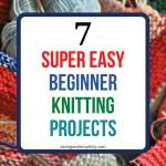 beginner knitting project