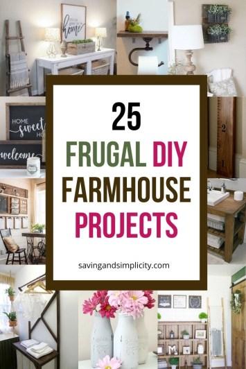 Easy DIY farmhouse projects