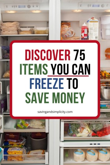 I wish I had thought of half of these! Number 33 surprised me, it would save so much time and money especially with baking. I need this list the next time I hit the grocery store or farmers market. #freezermeal #food #savemoney