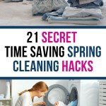 Spring brings with it the need to clean and refresh the home. It's time for spring cleaning and we have some great time saving frugal hacks to help you.