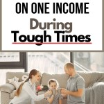surviving tough times one income