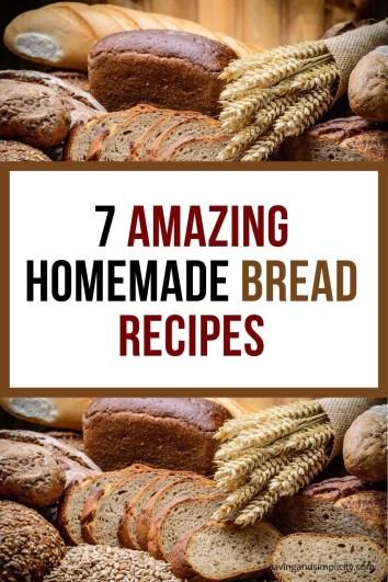7 amazing homemade bread recipes