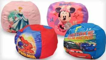 Character Bean Bag Chairs 25 Shipped Minnie Mouse Cars 2 Princess And