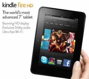 Amazon Kindle Fire HD Only $179 Shipped!