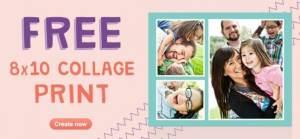 Walgreens:  FREE 8 x 10 Collage Print!