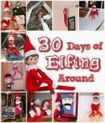 Elf on the Shelf Ideas: 30 Days of Elfing Around!
