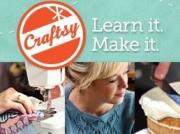 Craftsy:  Try a FREE Online Craft Class!