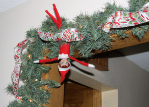 Here are 30 easy and fun Elf on the Shelf ideas for your elf to do after his LONG trip. The look on your child's face will be priceless!