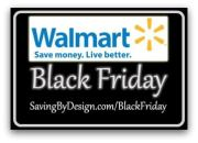 Walmart Black Friday Deals 11/28 – 12/1