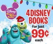 Disney Books – 4 Books, $0.99 Each + Free 2014 Wall Calendar