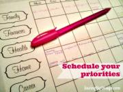 Take Back Your Life:  Schedule Everything!