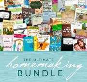 LAST DAY! The Ultimate Homemaking Bundle Only $29.97!!  {$850+ Value!}