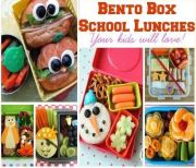 Bento Box School Lunches Your Kids Will Love!