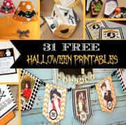 31 FREE Halloween Printables – Invitations, Signs, Banners, and More!