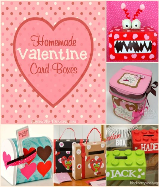 got valentines you need one of these adorable homemade valentine card boxes to hold all - Homemade Valentine Treats