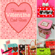 8 Homemade Valentine Card Boxes Perfect for Holding Cards and Treats