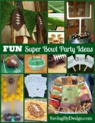 Super FUN Super Bowl Party Ideas