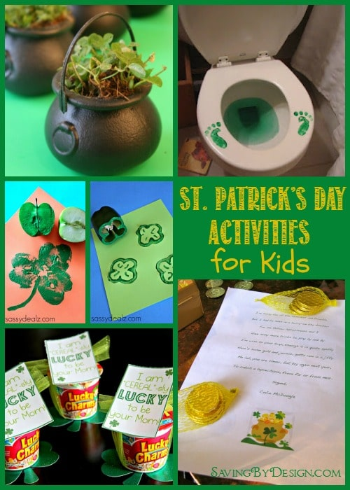 12 St. Patrick's Day Activities for Kids